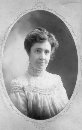 Young Gertrude Nichols