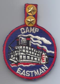 Camp Eastman on the Mississippi River